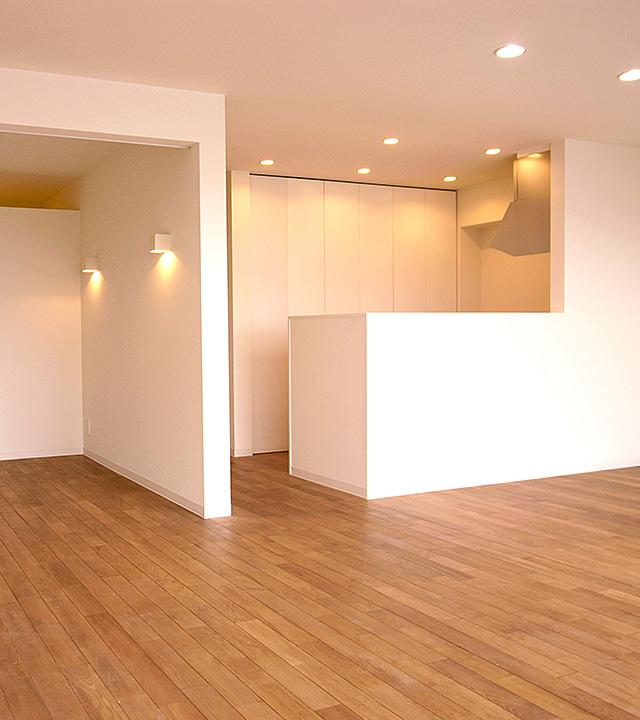 シンプルモダンな家/神戸市東灘区